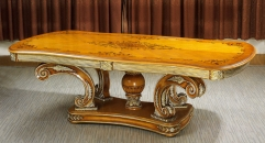 antique Baroque style wood carving dining table