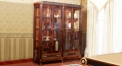 luxury new classical style wood carving 4 door showcase, cabinet, sideboard, cupboard