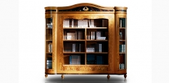 antique French style wood carving Bookcase