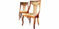 antique French style wood carving chair, dining chair