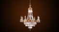 Luxury crystal candle lamp chandelier,bronze residential lighting,pendent lamp