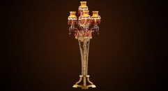 classical gold plated floor lamp,home decoration copper lamp