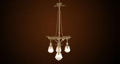 crystal chandelier, residential lighting