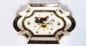 royal ivory porcelain horse tray