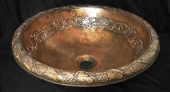 Cast bronze Vessel sink