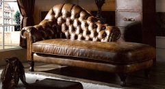 imperial leather chaise lounge, couch