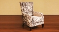 Fabric high back chair
