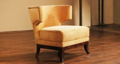 Full top grain leather chair