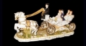 the carriage of spring outing (porcelain art)