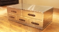 Stainless steel trunk, cabinet