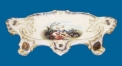 flower shape decorative tray (dolomite)