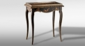 luxury antique brown end table