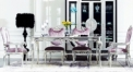 New classical dining room set