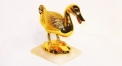 Exquisite golden 24K home decor metal craft duck decoration , European-style home accessories vintage ornaments