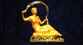 Exquisite golden 24K home decor metal craft immortal decoration , European-style home accessories vintage ornaments