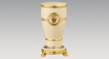 High quality classic style ivory vase, luxury ceramic hand made vase, European style table vase