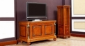 conternporary and classical style solid wood 2-door floor cabinet