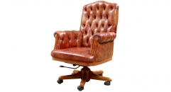 classical good leather executive chair,study room chair, offic chair
