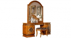 exquisite workmanship modern desing solid wood small dresser set
