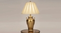 luxury double small handle golden color ancient design copper table lamp, 100% copper bedroom table lamp