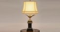 superior vintage style copper and marble table lamp, copper and marble bedroom table lamp