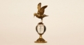 European Copper and glass peaceful dove style decoration, hand made brass home decoration, hotel and restaurant decoration