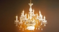luxury decoration classical Gold 24K style chandelier, ceiling light