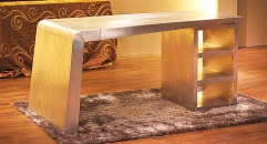 Aluminium desk, table