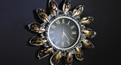 European style shell decoration wall clock, living room and bedroom wall clock